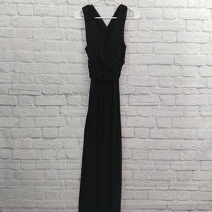 Poof Couture | Black Maxi Dress with Keyhole